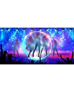 Stage Light Computer Printed Dance Recital Scenic Backdrop ACP-1231