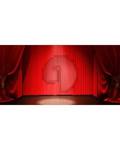 Stage Curtain Computer Printed Dance Recital Scenic Backdrop ACP-1264