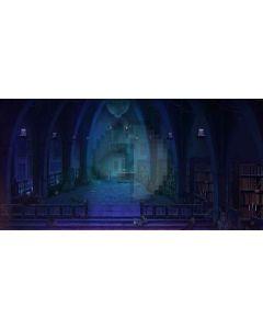 dark house Computer Printed Dance Recital Scenic Backdrop ACP-292