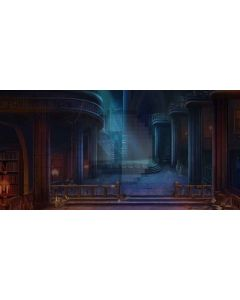 Light of Darkness Computer Printed Dance Recital Scenic Backdrop ACP-293