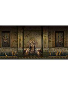 egyptian architecture Computer Printed Dance Recital Scenic Backdrop ACP-331