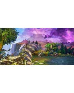 The Natural World Computer Printed Dance Recital Scenic Backdrop ACP-336