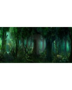 Thick Woods Computer Printed Dance Recital Scenic Backdrop ACP-357