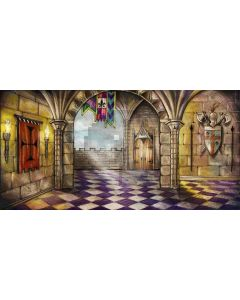 Secret hall Computer Printed Dance Recital Scenic Backdrop ACP-417