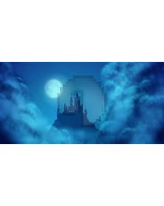 night of mystery Computer Printed Dance Recital Scenic Backdrop ACP-446