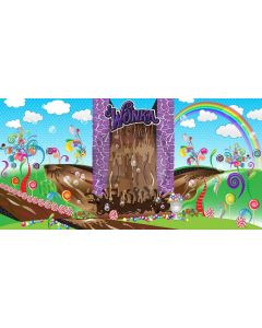 Candy House Computer Printed Dance Recital Scenic Backdrop ACP-044