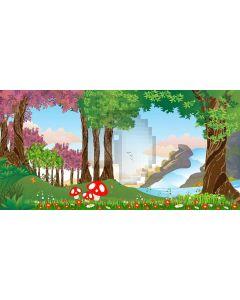 Forest Trip Computer Printed Dance Recital Scenic Backdrop ACP-467