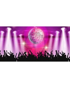 Bright lights Computer Printed Dance Recital Scenic Backdrop ACP-468
