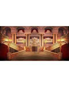 beauty palace Computer Printed Dance Recital Scenic Backdrop ACP-484