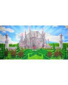 Fantasy land Computer Printed Dance Recital Scenic Backdrop ACP-495