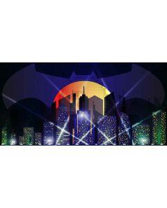 Bright night Computer Printed Dance Recital Scenic Backdrop ACP-498