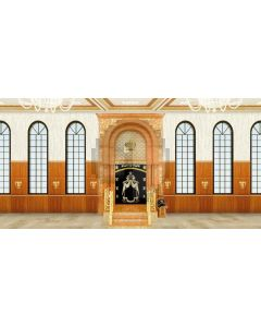 solemn place Computer Printed Dance Recital Scenic Backdrop ACP-508