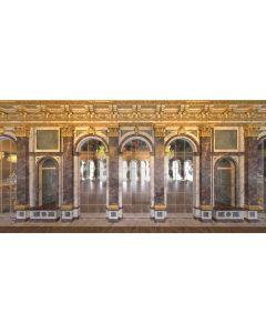 Glory Gold Arch Computer Printed Dance Recital Scenic Backdrop ACP-541