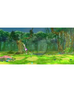 Forest Illumination Grass Flower Computer Printed Dance Recital Scenic Backdrop ACP-546