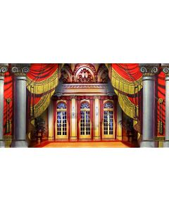 Arch Curtain Window Pillar Computer Printed Dance Recital Scenic Backdrop ACP-549