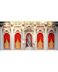 Glory Arch Curtain Figure Computer Printed Dance Recital Scenic Backdrop ACP-553