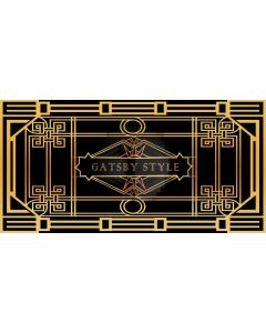 Gatsby Style Computer Printed Dance Recital Scenic Backdrop ACP-560