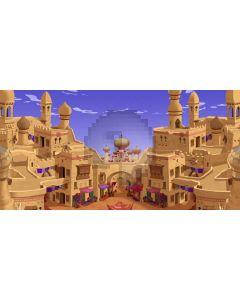 Castle Sky Computer Printed Dance Recital Scenic Backdrop ACP-570