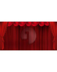 Stage Curtain Computer Printed Dance Recital Scenic Backdrop ACP-606