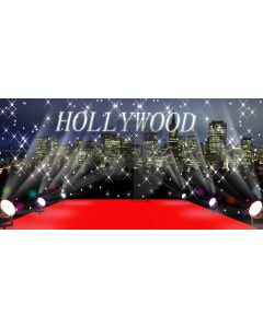 Hollywood stage Computer Printed Dance Recital Scenic Backdrop ACP-068