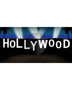 Hollywood light Computer Printed Dance Recital Scenic Backdrop ACP-069