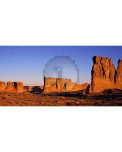 desolate place Computer Printed Dance Recital Scenic Backdrop ACP-006