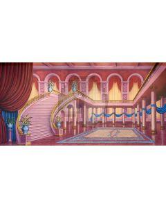 Stair Arch Curtain Pillar Floor Computer Printed Dance Recital Scenic Backdrop ACP-851