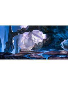 Stone River Light Computer Printed Dance Recital Scenic Backdrop ACP-853