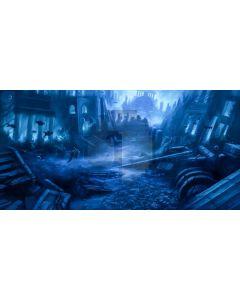 Pillar Darkness Computer Printed Dance Recital Scenic Backdrop ACP-933