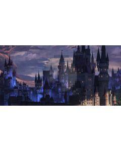 Castle Cloud Light Computer Printed Dance Recital Scenic Backdrop ACP-965