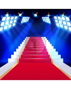 Red Carpet Light Computer Printed Photography Backdrop AUT-306