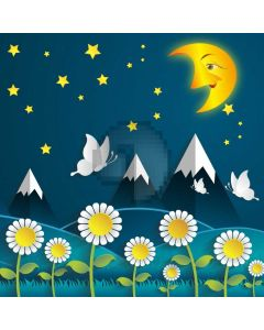 Moon Star Computer Printed Photography Backdrop AUT-405