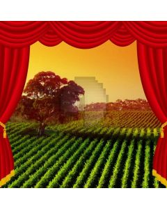 Curtain Grass Computer Printed Photography Backdrop AUT-622