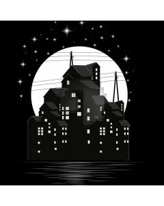 House Star Computer Printed Photography Backdrop AUT-652