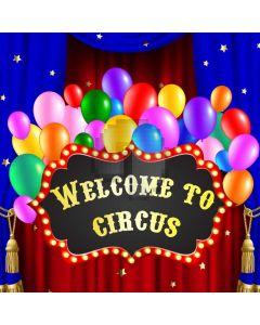 Circus Ballon Computer Printed Photography Backdrop AUT-664