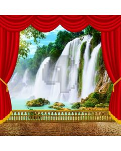 Fall Curtain Computer Printed Photography Backdrop AUT-802