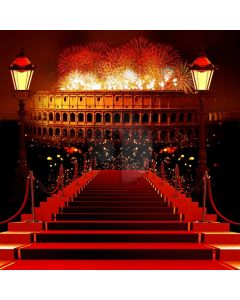 Stair Firework Computer Printed Photography Backdrop AUT-805