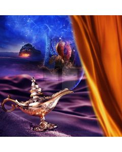Incense Burner Curtain Computer Printed Photography Backdrop AUT-847