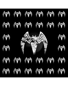 Bat White Computer Printed Photography Backdrop AUT-895