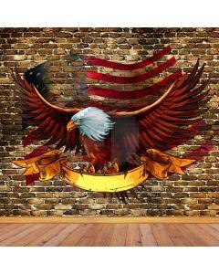 Brick Eagle Computer Printed Photography Backdrop AUT-986