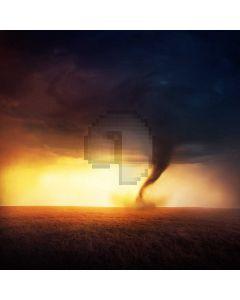 Cloud Storm Computer Printed Photography Backdrop AUT-997