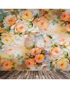 Flower Wall Computer Printed Photography Backdrop CM-6718