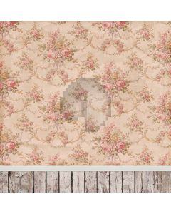 Rose Flower Wall Computer Printed Photography Backdrop CM-6727