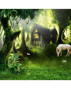 Forest Computer Printed Photography Backdrop CM-6746