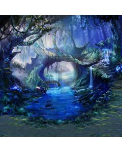 Night Forest Computer Printed Photography Backdrop CM-6766