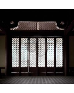 Chinese Style Door Computer Printed Photography Backdrop CM-6774