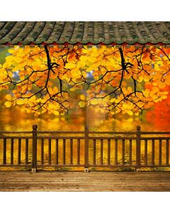 Chinese Style Computer Printed Photography Backdrop CM-6783