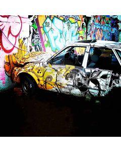 Graffiti wall Computer Printed Photography Backdrop DGX-010
