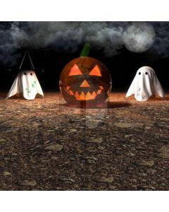Halloween Pumpkin Computer Printed Photography Backdrop DGX-24