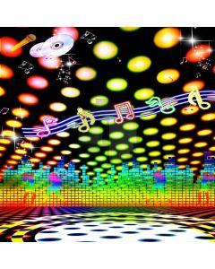Wonderful Music Computer Printed Photography Backdrop DGX-320